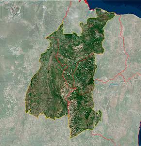 Mapa do Matopiba
